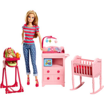 Walmart: Barbie I Can Be Large Infant Caretaker Play Set