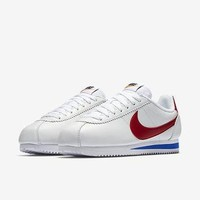 The Nike Classic Cortez Premium Women's Shoe.