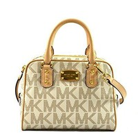 Michael Kors Saffiano Mini Satchel Crossbody Bag Purse Handbag