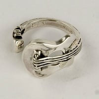 Guitar Sterling Silver Ring