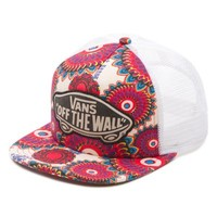 Vans Beach Girl Trucker Hat (Geo/Floral)