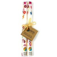 Tall Hand Painted Candles - Pair - Mamako Design - Nobunto