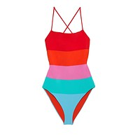 Olympia One Piece - Sunrise Color Block
