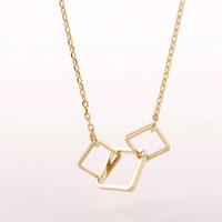 Triple Cube Necklace
