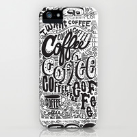 COFFEE COFFEE COFFEE! iPhone & iPod Case by Matthew Taylor Wilson