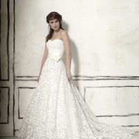 Justin Alexander 8557 Lace A-line Wedding Dress