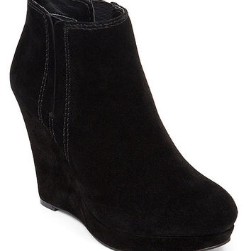 Jessica Simpson Calwell Platform Wedge Booties | Dillards