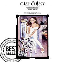 Ariana Grande Playing Dog iPad 5 case CaseClassy