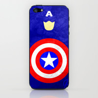 Captain America: Avengers Movie Variant iPhone & iPod Skin by TheLinC