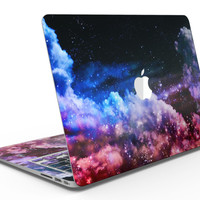 Purple Blue and Pink Cloud Galaxy - MacBook Air Skin Kit