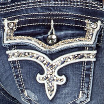 ROCK REVIVAL ENA J3 STRAIGHT JEANS