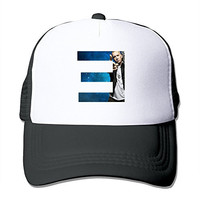Unisex Eminem Logo Adjustable Trucker Hat Black