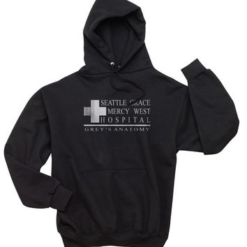 Seattle Grace Mercy West hospital Unisex Hoodie S to 3XL
