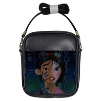 Mulan Cross Body Bag by Totalchaosbootique on Etsy