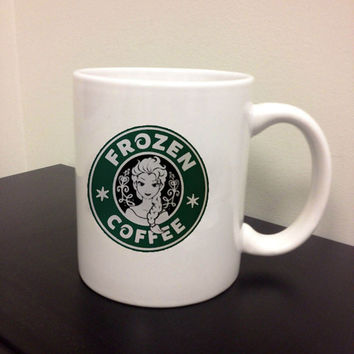 disney frozen starbucks logo mug design For Ceramic Mug Design Custom mug