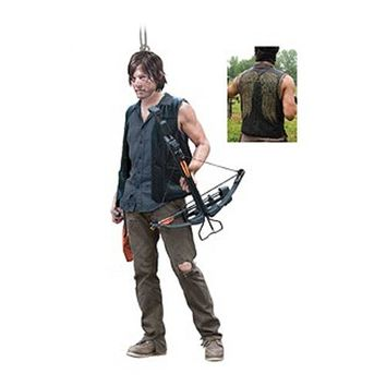 The Walking Dead Daryl Dixon Resin Figural Ornament - Kurt S. Adler - Walking Dead - Holiday Ornaments at Entertainment Earth