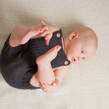 Baby romper Knit Diaper Cover Baby Sunsuit Baby clothes