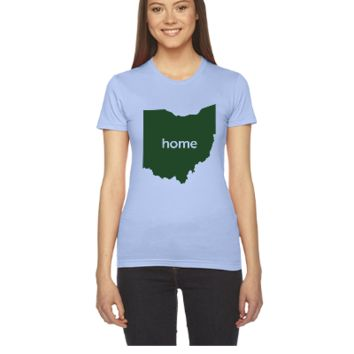 OHIO HOME STATE - Women's Tee