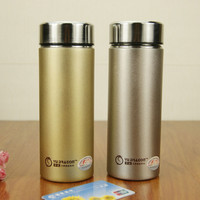2016 High-grade purple sand cup Thermos Cup Mug Stainless Steel Bottle Vacuum  Thermal bottle Garrafa Termica Thermo cup kettle