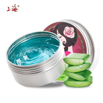 Natural Chinese Refreshing Aloe vera Gel With Rose Extracts for Acne Treatment Moisturizing Skin Brightening