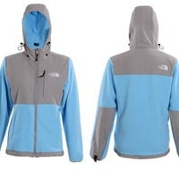 Blue Grey North Face Womens Denali Hoodie Jacket [Denali Hoodie Jacket Blue Grey] - $108.00 : Cheap north face jackets coats on sale,60% off & free shipping!