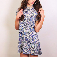 Paisley Rebellion Dress