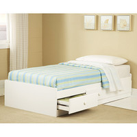 Walmart: New Visions by Lane, My Place My Space Twin Storage Bed, White