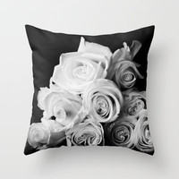 Classic Dozen Throw Pillow by laughlovephoto