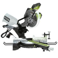 Ryobi 15-Amp 10 in. Sliding Miter Saw with Laser TSS102L at The Home Depot - Mobile