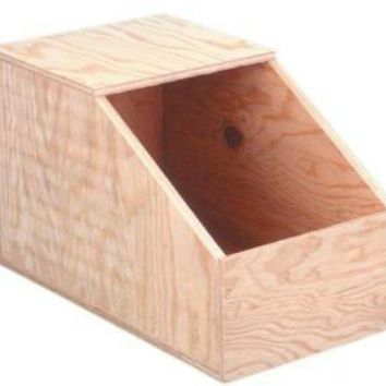 ONETOW Ware Wood Rabbit Nesting Box Small