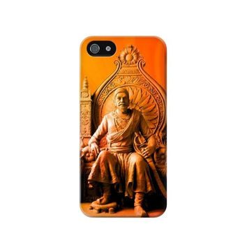 P1104 Shivaji Maharaj Comes Marathas Case Cover For IPHONE 5C