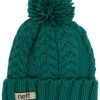 neff Women`s Kaycee Beanie Hat, Ceramic, One Size: Clothing