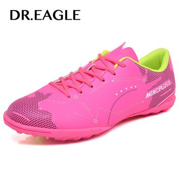 DREAGLE futzalki indoor tf sport child football for man the soccer shoes futsal boot boy superfly soccer shoe football boots