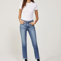 W3 High Rise Straight Authentic Crop | Ace
