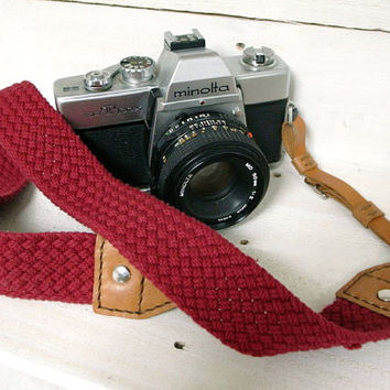 Leathinity - Leather Neck Camera Strap (Adjustable Length / 4 Colors)