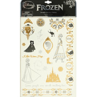 Disney Frozen Metallic Temporary Tattoos