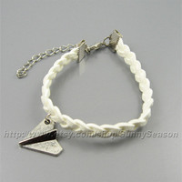 One Direction,Paper Airplane Bracelet, Harry Styles Airplane bracelet, directioner  gift