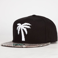 Blvd Scales Mens Snapback Hat Black One Size For Men 24426910001