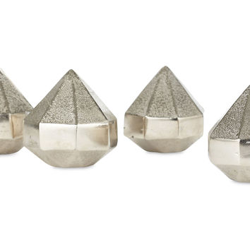 Diamond Paperweights, Set of 4, Paper Weights