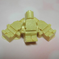 Golden Man Lego soap set - Oscars Watch Party, Shea Butter soap, Handmade soap, Yuzu scent, Lego Party