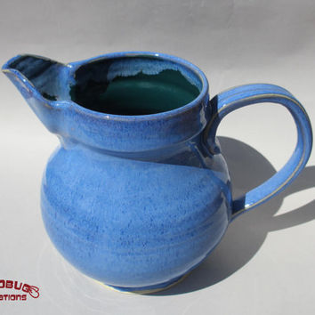Blue Pitcher - Ceramic