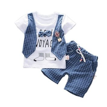 Top And Short Toddler Boy Summer Outfits Cute Toddler Boy Clothes