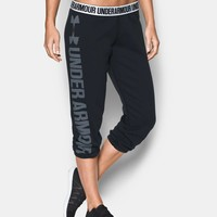 Women's UA Favorite Fleece Capris | Under Armour US