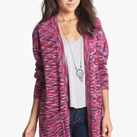 BP. Marled Long Cardigan (Juniors) | Nordstrom