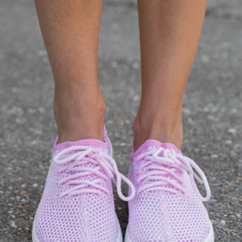 Can't Stop Won't Stop Sneakers, Baby Pink