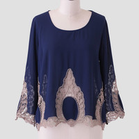 Divine Youth Embroidered Top