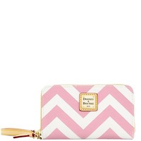 Dooney & Bourke Chevron Phone Wristlet