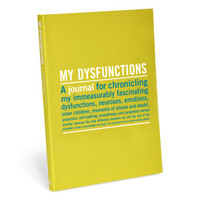 My Dysfunctions Guided Journal by Knock Knock
