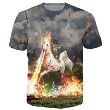 Cat Horse From Hell T-Shirt
