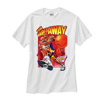 Tim Hardaway Cartoon white tee